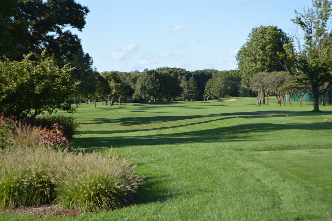 View of the course at Wilmette Golf Club